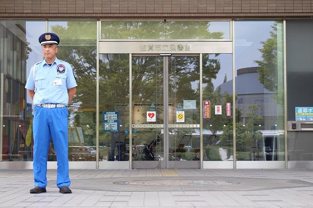 警備実績 佐賀市立図書館1